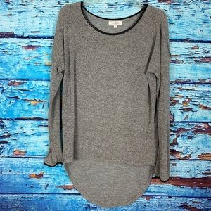 Umgee long sleeve knit top sweater size L